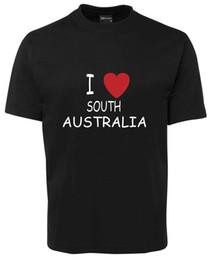 $enCountryForm.capitalKeyWord Canada - I LOVE SOUTH AUSTRALIA T-Shirt Tee (0144M)