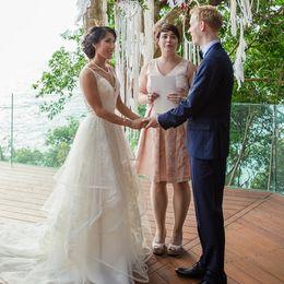 Skirts Zipper Back NZ - Ivory Sheer Neck Wedding Dresses Tiered Skirts Wave Details Lace A Line Beach Wedding Gowns Floor Length Zipper Back Plus size Bridal Dress