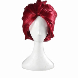 $enCountryForm.capitalKeyWord UK - Unisex Lolita Layered Cool Gothic Party Cosplay Costume Wig Short Red