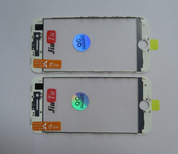 iphone bezel Australia - Front Panel Glass + OCA Film + Bezel Frame For iPhone 8G Refurbish LCD Screen Repair 50pcs Lot