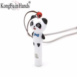 Animatio dos desenhos animados Adorável Totoro Panda animal pingentes Colar apito cadeia bonito jóias crianças presente de Natal