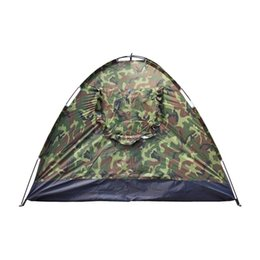 Chinese  3-4 Person Camping Dome Tent Camouflage Waterproof Oxford Cloth Family Hiking Camping Backpacking Tent US Stock manufacturers