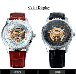 $enCountryForm.capitalKeyWord Australia - SEWOR Luxury Mechanical Skeleton Watches Men Casual Watch Clock Leather Fashion Wristwatches Erkek Kol Saati Relojes SWQ21-740