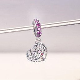 $enCountryForm.capitalKeyWord Australia - Whoesale Christmas gift flower charm pendant for pandora,925 sterling silver charm pendants fit for bracelet