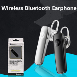 bluetooth stereo headset driver 2019 - M165 Wireless Stereo Bluetooth Earphone Headset Single Min bluetooth 4.0 Stereo Sports headphone Car Driver handfree for