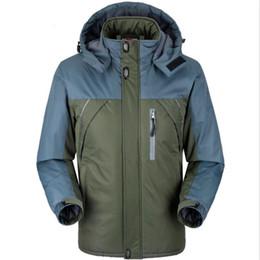 92d0ea98fbe 2018 Winter Warm Waterproof Jacket Men Thick Velvet Parka Coat Thermal  Windproof Hood Jackets Male Fleece Coat 6XL 7XL 8XL 9XL
