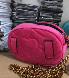 Girls cell phones covers online shopping - 2018 new style style Most popular luxury handbags men women bag designer mini messenger bags feminina velvet girl waist bag with