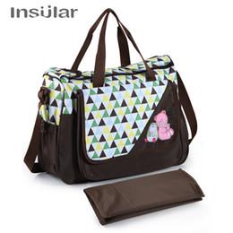 15e585db4e313 Insular Brand Baby Nappy Bags Diaper Bag Mother Shoulder Bag Large Capacity  Maternity Mummy Handbag Waterproof Baby Stroller