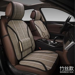 $enCountryForm.capitalKeyWord Canada - New bamboo filament air cooling cushion car silk cushion single seat four seasons general bamboo cushion