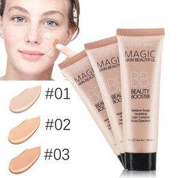 Nude Makeup Bb NZ - Natural Whitening BB Cream Brighten Face Skin Nude Makeup Foundation Liquid Base Flawless Cover Isolation Concealer BB Cream
