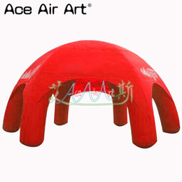 Spider tent online shopping - Huge inflatable spider event tent ainflatable dome tent inflatable event stations in colors for advertising