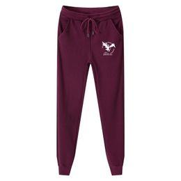 Men trousers size 36 black online shopping - Cotton Homme Plus Size M XL Mens Sweat Pants Fashion Eagle Printed Thick Fleece Casual Jogger Pants Long Trousers