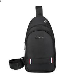 Single Shoulder Strap Packs Australia - New Fashion Crossbody Bags for Men Simple Messenger Chest Bag Pack Casual Male Bag Waterproof Nylon Single Shoulder Strap Pack