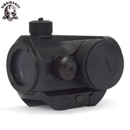 $enCountryForm.capitalKeyWord UK - Sinairsoft New Tactical Mini Micro T-1 Red & Green Dot Sight Reflex Sight Rifle Scopes With 21 mm Picatinny Mount For Airsoft Hunting