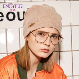 $enCountryForm.capitalKeyWord Australia - ENJOYFUR Rhinestones Wool Knitted Winter Hats For Women Autumn Cashmere Female Hat Girl Warm Gravity Falls Cap 2018 Lady Beanies D18110102
