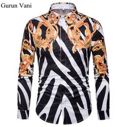 7fc7d564a Discount beige stripe mens dress shirts - Stripe Classic 3D Pattern Men's  Long Sleeve Shirt British