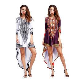 d4a38a2f010 Femmes été jupe queue de poisson 2018 Long Maxi Beach Summer Dress Femmes  robe hors épaule Boho