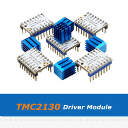 wholesale 3d printer Canada - 5pcs 3D Printer Part Ultra-Silent MKS V1.0 TMC2130 Stepper Motor Driver Module With Heatsink