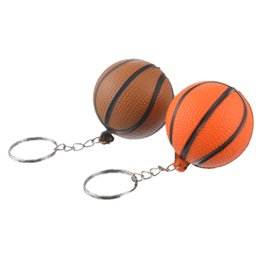 basketball jewelry for men UK - MJARTORIA 4PCs Fixed Mixed Fashion PU Basketball Key Chain For Boy Man Key Holder For Car Key Ring Charm Pendant Jewelry Gift