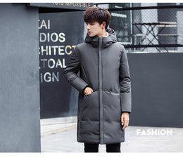 $enCountryForm.capitalKeyWord NZ - 2019 winter new men's medium length cotton padded clothes, fat, extra yards, cotton clothes, men's loose, thick, thick, fat warm coat.