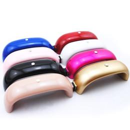 rainbow nail polish 2019 - 12W 9W LED UV Nail USB Dryer Nail Rainbow Shape Mini Lamp For Nails Manicure Machine Gel Lamp LED UV Gel Polish Manicure