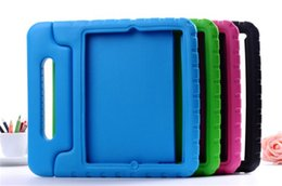 eva foam ipad mini case 2019 - 3D Cute portable kids Safe Foam ShockProof EVA Case Shockproof Handle Cover Stand For iPad 2 3 4 air 2 cheap eva foam ip