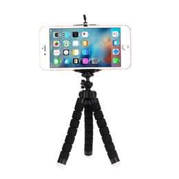 tripod camera 2018 - Mini Flexible Sponge Octopus Bluetooth RemoTripod for iPhone Samsung Xiaomi Huawei Mobile Phone Smartphone Tripod for Go