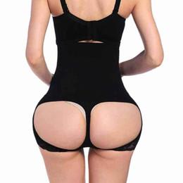 4514e81b2c58b Sexy Women s Hip Up Control Body Panty High Waist Women Hollow Out Butt  Lifter Enhancer Boxer Woman Push Up Buttocks Panties