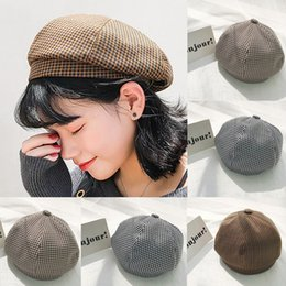 4a34c8f8779 3 Colors Women Solid Beret French Artist Warm Beanie Hat Autumn Winter Ski Cap  For Girls New Fashion