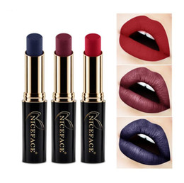 $enCountryForm.capitalKeyWord Australia - 2017 Matte Lipstick Sexy Red Lips Waterproof Long Lasting Lip Gloss 24 Colors Lipsticks Metallic Nude Lip Makeup