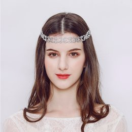 head chain headband Australia - 2018 Newest Classical Crystal Headbands Princess Head Chain Jewelry Accessories Beach Wedding Bride Headpieces for Women JCG076