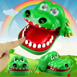 Funny Prank Gifts Australia - Big mouth crocodile biting finger Game Funny Toy Gift Funny Gags Novetly Toys For Kids Crocodile Dentist Bite Prank Toys