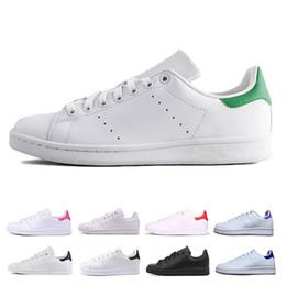 330587c00 adidas stan smith Venda barato stan smith homens mulheres sapatos de Skate  preto branco verde sneaker tênis sapatos de instrutor de esportes  respirável eur ...