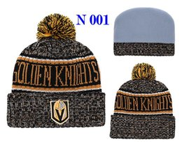 $enCountryForm.capitalKeyWord NZ - 2018 Vegas Golden Knights Ice Hockey Knit Beanies For Men Women Fashion Senators Canadiens Pom Pom Spring Winter Skull Caps