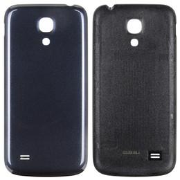 9142cb63282 Carcasa trasera Carcasa Cubierta de la puerta de la batería para Samsung  Galaxy S4 mini i9190 i9195 Piezas de repuesto