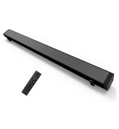 Remote sound caRd online shopping - V4041US US Plug LP Sound Bar Subwoof Bluetooth Speaker Home TV Echo Wall Soundbar Wall mounted Remote Control U disk Pling Speaker
