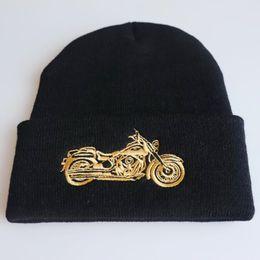 $enCountryForm.capitalKeyWord Australia - MOTORCYLE autumn MEOW Cap Men Women Casual Hip Hop Hats Knitted Skullies Beanies Hat Warm Winter Hat For Women Beanie