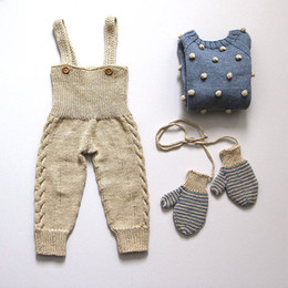 Cute suspenders for girls online shopping - 17 New Arrivals Baby Winter Overalls HandKnit Toddler Pants Winter Clothing For Boys and Girls Cute Suspender Bottoms For Kids