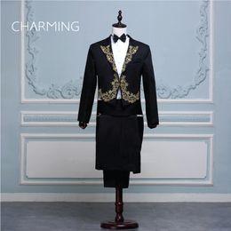 $enCountryForm.capitalKeyWord Australia - Mens wedding tuxedos For the magician mens tuxedo suit stage choir symphony conductor costume singer designer tuxedo