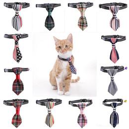 Toy Bows Australia - New Adjustable Pet Tie Dog Cat Teddy Pet Puppy Toy Grooming Bow Tie Necktie Clothes Party Tie