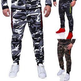 Camo Print Fashion Men NZ - NIBESSER Men Camouflage Printed Pants Male Jogger Pencil Harem Pants Men Fashion Camo Trousers Sportwear Hip Hop