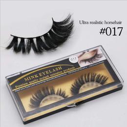 Wholesale 5Pairs Horse hair Softer than Mink Handmade False Eyelash Full Strip Lashes in large stock