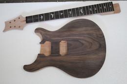 Vente en gros Kit guitare électrique de marque Musoo avec plateau en palissandre (2-3cm) pour 24frets