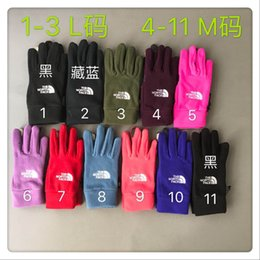 Touch fingers online shopping - Dropshipping Waterproof TN F Gloves Touch Screen Gloves The Norh Outdoor Sport Face Warm Full Finger Guantes Gloves Touch iGloves