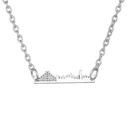 $enCountryForm.capitalKeyWord Australia - lemegeton San Francisco Paris London and New York Skyline Necklace French Eiffel Tower Landscape Charm City Cityscape Jewelry Necklace