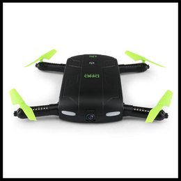 Helicopters Toys Camera Australia - DHD D5 Selfie Drone With Wifi FPV HD Camera Foldable Pocket RC Drones Phone Control Helicopter VS JJRC H37 Mini Quadcopter Toys