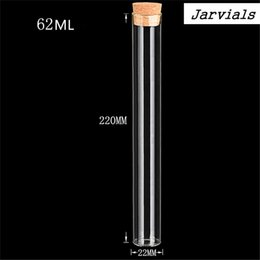 glass pill bottles 2019 - Glass Jars with Corks 62ml Clear wild-mouth Bottle Containers Sand Liquid Sweets Pill Food Wedding Gift Tiny Vial Bottle
