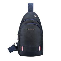 Single Shoulder Strap Packs Australia - 2018 New Fashion Crossbody Bags for Men Messenger Chest Bag Pack Casual Bag Waterproof Nylon Single Shoulder Strap Pack