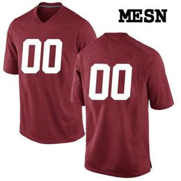 e5a2d65e6 Custom Alabama Crimson Tide College jersey Mens Women Youth Kids  Personalized Any number of any name Stitched Red White Football jerseys