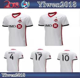 8dfd321a2 2019 Toronto FC Away Soccer Jersey 18 19  10 GIOVINCO  4 BRADLEY  17  ALTIDORE White Soccer Shirt Customized MLS Football Uniform Sales